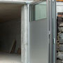 Falttor, Aluminium eloxiert