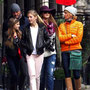 Tim McGraw & Faith Hill- Family Time In London - they just look like a cute little normal family.