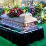 Elvis' Beerdigung.