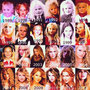 Taylor Swift growing up...cute idea. Like an Instagram collage of so many face pictures .