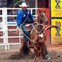 George Strait calf roping.