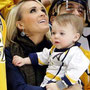 Carrie Underwood and Isaiah.