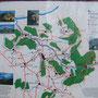 Carte de randonnées