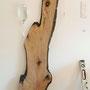 Fragments d'une forêt 2, planche de bois, matériel de perfusion, sérum physiologique, bac inox, 180x70x20cm, 2013cm, 2013