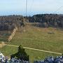 Blick Richtung Schattenberg wo man die letzten Schneereste sieht