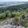 Blick von oben Richtung Lommiswil