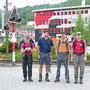 Start am Samstag, 20. Juni 2009 im vonRoll Areal in Balsthal zum Jurahöhenweg nach Genf