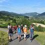 Blick in das Thal hinunter Richtung Balsthal und Roggenfluh