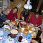 Im Hüttli feiern wir am 14. Januar 2010 auf den Tag genau 10 Jahre Kampfwanderer mit ungefähr 500 Donnerstagswanderungen