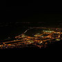 Wunderbares Lichtermeer, gesehen auf der Roggenfluh am Donnerstag, 17. November 2011