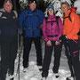 Gruppe mit Wanderleiterin