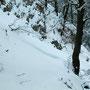 Im März 2004 lagen zwei Meter hohe Schneeverwehungen auf dem Wägli