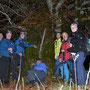 Gruppenbild vor dem schönsten Baum in unserem Wandergebiet