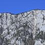 Imposanter Gipfelaufbau