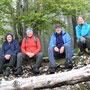 Gruppenbild auf den Chamben
