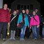 Gruppenfoto vor dem Rössli in Bellach