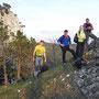 Donnerstagswanderung vom 24. April 2014 übers Rüttelhorn