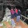 Rast auf dem Känzeli in der Stiegelos am Donnerstag Abend 9. Januar 2014