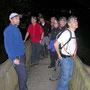 Wieder einmal auf einer Aare - Flachwanderung in Murgenthal am Donnerstag Abend 15. März 2012