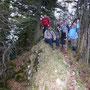 Donnerstagswanderung am 30.4.09 auf dem höchsten Punkt des Geissfluhgrates