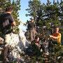 Auch am 10 Juli 2010 wieder wunderbare Verhältnisse am Dilitschchopf Westgrat