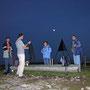 Im Mondschein auf der Rötifluh am Donnerstag 13. Oktober 2005