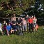 Gruppenbild beim Niederwiler Stierenberg