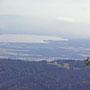 In der Region von Le Planet sehen wir bereits den Springbrunnen von Genf