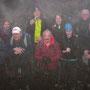 Nebliges Gruppenfoto auf der Wannefluh