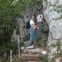 Donnerstagswanderung am 29. August 2002 in der Stiegelos