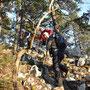 Wanderleiterin mit Unterstützung vom SAC