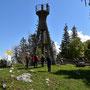 Der Turm auf dem Raimeux