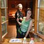 Eingespieltes Küchenteam am Holzofenherd