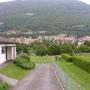 In Vallorbe beginnt der lange Aufstieg zum Dent de Vaulion