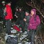 Absolut nicht für Schönwetterwanderer und Warmduscher auf dem garstigen Rüttelhorn am 19. Dezember 2013