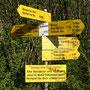 1h15 flott marschiert und schon unglaubliche 677 Höhenmeter erreicht auf der Rumpelhöchi