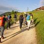 Einmarsch auf Alp Sur les Rives