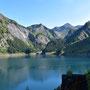 Blick zurück am Lago Luzzone
