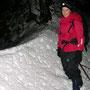 Auf den Chamben hat es bereits einige schöne Schneeverwehungen