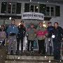 Verspäteter Schneefall am Donnerstag 10. Mai 2010 beim Kurhaus Weissenstein