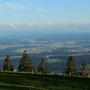 Alpenpanorama inbegriffen heute