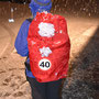 Die Wanderleiterin startet heute zum ersten mal in der Kategorie Ü40