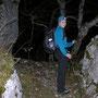 Wanderleiterin Priska im Gipfelsturm auf der Lehnfluh