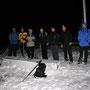 Wintereinbruch auf der Rötifluh am Donnerstagabend 18. November 2010