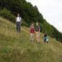 Donnerstagswanderung am 12. August 2005 oberhalb der Längmatt im Aufstieg zum Stierenberg