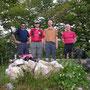 auf dem höchsten Punkt des Berner Juras, dem Hellchöpfli auf 1230m