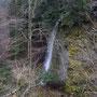 Den Wasserfall beim Balmweidli kann man nur sehr selten fotografieren