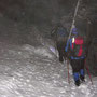 In der Region Känzeli ist Vorsicht geboten, nachts bei Nebel und rutschigem Schnee