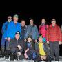 Teamfoto ohne die fünf Softwanderer