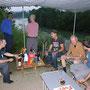 Wunderschöne Regenwanderung an der Aare und Grillabend im Casita Wynau am 22. Juli 2010